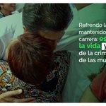 Estoy a favor de la vida y en contra de la criminalización de las mujeres. https://t.co/dJRaPxNMR4