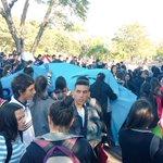 Así marchaban los alumnos de los colegios Villa Permanente,San Cayetano y Gral. Bernardino Caballero de Ayolas hoy. https://t.co/TGgFQSYVAV
