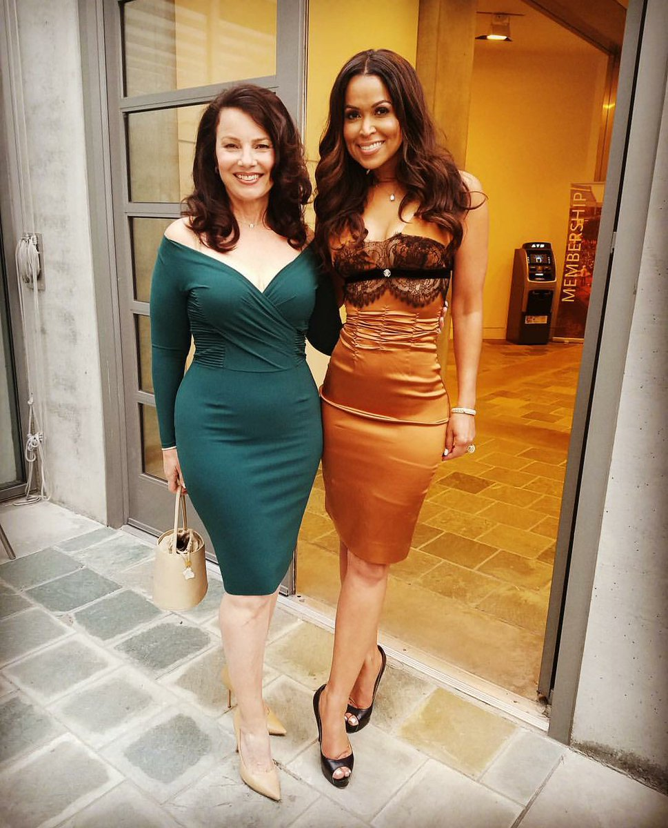 @Traceyeedmonds here a pic of you @frandrescher you both look gorgeous