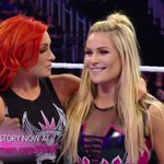 #WWEs @natbynature & @BeckyLynchWWE are ready for action! #SmackDown https://t.co/KzSESMFvR3