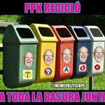 #LaRepartijaDePPK reciclando a toda la basura junta. #FelizJueves #Norte #KenjiPresidente #PPKreciclador. https://t.co/ez2zjcMxN5