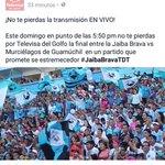 OFICIAL.  @televisagolfo transmite en vivo final de vuelta @CFTampicoMadero vs @murcielagosfc #JaibaBrava #Tampico! https://t.co/ny7tkUJ4pZ