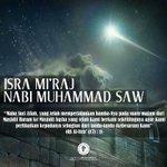 Selamat memperingati Isra Miraj Nabi Muhammad SAW. Semoga kita dapat meningkatkan keimanan kepada Allah SWT Amin... https://t.co/xCcPQ9zRHh