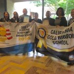 Virginia Rocca Barton representing @ the @CADeptEd gold ribbon schools awards ceremony in SC @MCOE_Now #alisalstrong https://t.co/kc3q862x9z