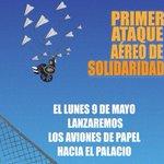 #LaPaz Activistas organizan bombardeo de aviones de papel en apoyo a discapacitados https://t.co/uQI65vSZGk https://t.co/Wh2glhXquE