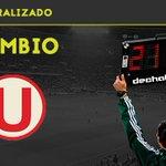 46 CAMBIO EN UNIVERSITARIO: Roberto Siucho x Andy Polo #UNI 0-2 #MEL @DeChalaca https://t.co/ZZlrf8DoPh https://t.co/eS9XXV4K06