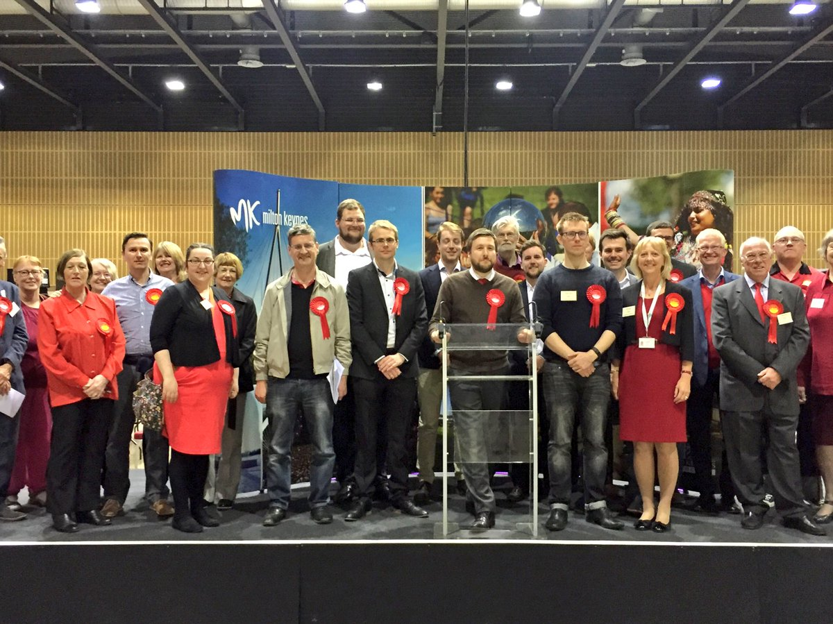 Great results for @MKLabourParty in #mkcouncil elections. Thanks to all our supporters - not a single Tory gain https://t.co/TV4kSzVXit