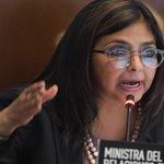 """Entonces Delcy Rodríguez: Dijo Que Venezuela podría alimentar a 3 naciones enteras"""" #QueTal https://t.co/Bg3CCnexMD"""