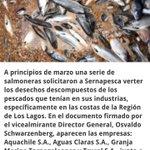 Empresas salmoneras confunden mar c/vertedero y @GobiernodeChile los autoriza Chiloé sufre las consecuencias!! https://t.co/6cLaB4IbmX