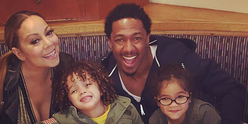 Mariah Carey and Nick Cannon are happy co-parents with their twins at pre MothersDay dinner