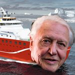 #BoatyMcBoatface has been forcibly renamed RRS Sir David Attenborough. So I made a #BoatyMcAttenboroughFace https://t.co/rZhXG69E8F