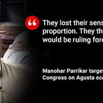 Defence Minister @manoharparrikar on #AgustaWestland https://t.co/0lxrWqFQSF https://t.co/34PSlf1V3D