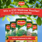 Follow & RT to win a £30 Waitrose gift card or 1 of 10 Del Monte juice vouchers. Closes May 31st. #FreebieFriday https://t.co/ZEelqjJGzb