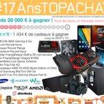 Concours #17AnsTopAchat  1 434 € à gagner avec le #Lot6 !  Pour participer, RT + Follow @TopAchat :-) https://t.co/m8vI1HboZY