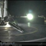 #Falcon9's first stage has landed on SpaceX's drone ship in the Atlantic Ocean. https://t.co/EO2Mao0EbH https://t.co/3hJtIkB7Ik