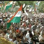 Pictures of Congress Loktantra Bachaao march from Jantar Mantar to Parliament #MarchForDemocracy https://t.co/1Ud6P0fvLK