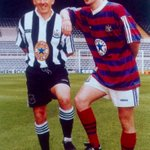 Peter Beardsley and Keith Gillespie Newcastle United #NUFC https://t.co/k3zESfH4DB