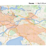Size of #FortMcMurray fire - superimposed over Metro Vancouver. (pic by Macleans) #ymmfire #ymmhelps #FortMacFire https://t.co/EUB0HB8hZU