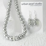 Pearl Bridesmaid Jewelry Set - Gray Bridal Necklace Earrings - Gre… https://t.co/AM9OWVZiCv #etsymntt #jewelryonetsy https://t.co/RIu2o28hNd