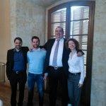 El nuevo concejal de @CsSalamanca preparado con el resto de compañeros para su primer pleno https://t.co/Y6mp17Plhy