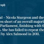 SNP fall short of an overall majority https://t.co/4MhC7RDwBZ - UK local elections #SP16 https://t.co/1RXkO0rSur