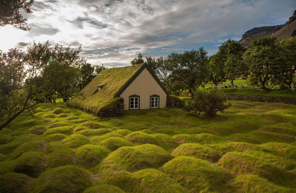 Little Church Made From Wood And Peat, Iceland   Photography by ©Menno Schaefer https://t.co/8MlbRIYzUe