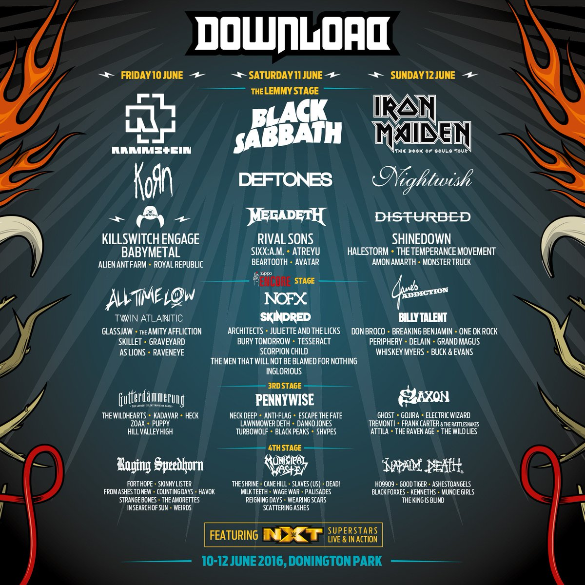 .@DownloadFest announce @BABYMETAL_JAPAN! Buy your tickets here: https://t.co/g8iJTOMisl https://...