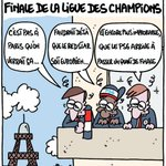 Madrid vs Paris selon Lasserpe dans @lequipe du jour. https://t.co/5o9gpnUZgg