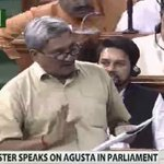 Have to state some facts on the floor of the House: says @manoharparrikar in Lok Sabha on #AgustaWestland https://t.co/PVWUG3cFCi