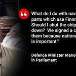 Defence Minister @manoharparrikar on #AgustaWestland https://t.co/5cnTfHu5g7