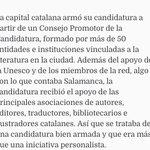 Queremos colaborar para que #Salamanca sea #CiudaddeLiteratura hay #creatividad de sobra @aytoSalamanca @UNESCO :-) https://t.co/kxTEWn3N8f