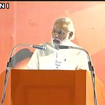 PM Narendra Modi addressing an election rally in Chennai (Tamil Nadu) #TamilNaduElection https://t.co/K8Bc4IKdmm