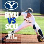 ITS GAME DAY AT MILLER PARK!!   Doubleheader starts at 5 against Santa Clara Watch on @byutvsports  #BYUSoftball https://t.co/WI1LnypXMB