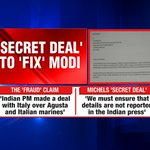#ModiFixerExposed Biggest Agusta lie nailed. Secret deal to fix @narendramodi https://t.co/FXB4x0BDL1