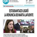 "???? Tapa #RPC | ""Estudiantazo logró la renuncia de Marta Lafuente"" #APrimeraHora https://t.co/rHXJ1qL5BE"