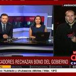 AHORA: @SebaFuentes entrega detalles del bono ofrecido por el Gobierno y el rechazo de los pescadores #MareaRoja https://t.co/INfULVrugy