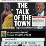 """Batswana ba lebala kapela"" they said 💅 https://t.co/yfCLPyq8VY"