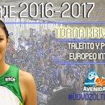 [OFICIAL] Tijana Krivacevic, talento para el interior azulón Bienvenida @TinaMalinaa https://t.co/fiSPc1Yfib https://t.co/D31mgfPMJa