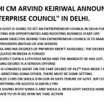 MAIN POINTS Delhi CM @ArvindKejriwal Press Conference on Enterprise Council and PM Modis degree. RT https://t.co/APT7HAswOK