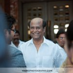 Superb clicks of @superstarrajini from Director #KSR daughter wedding party #Chennai #ITCGrandChola https://t.co/tIx3WF7GfN