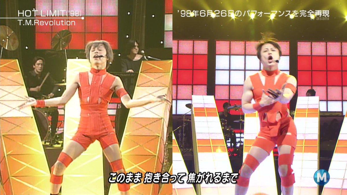 西川貴教さんがHOT LIMITの衣装着てるのまた見れるとは思わなかった #Mステ https://t.co/rYqqK9Mp51
