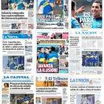 La gran victoria de Boca sobre Cerro Porteño reflejada en los medios gráficos argentinos https://t.co/QHGpPkn9Zk