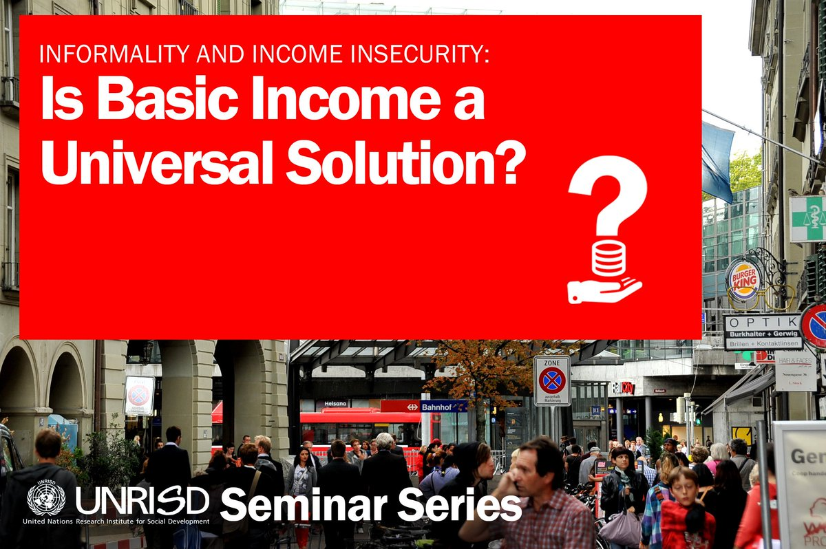 On 13 May we'll explore benefits and disadvantages of a universal income. Join us @UNGeneva: https://t.co/H48n0QhyHd https://t.co/goYxamtmML