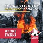 Lecciones d dignidad y perseverancia desde el sur de chile. #ChiloeResiste #ChiloeEnCrisis Nos vemos hoy en Ahumada https://t.co/HOxiSPAJDm