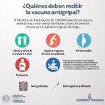 #Importante Las vacunas antigripales ya llegaron al país. Acérquese a su centro de salud más cercano #SonGratuitas https://t.co/a2VFrTEcj4