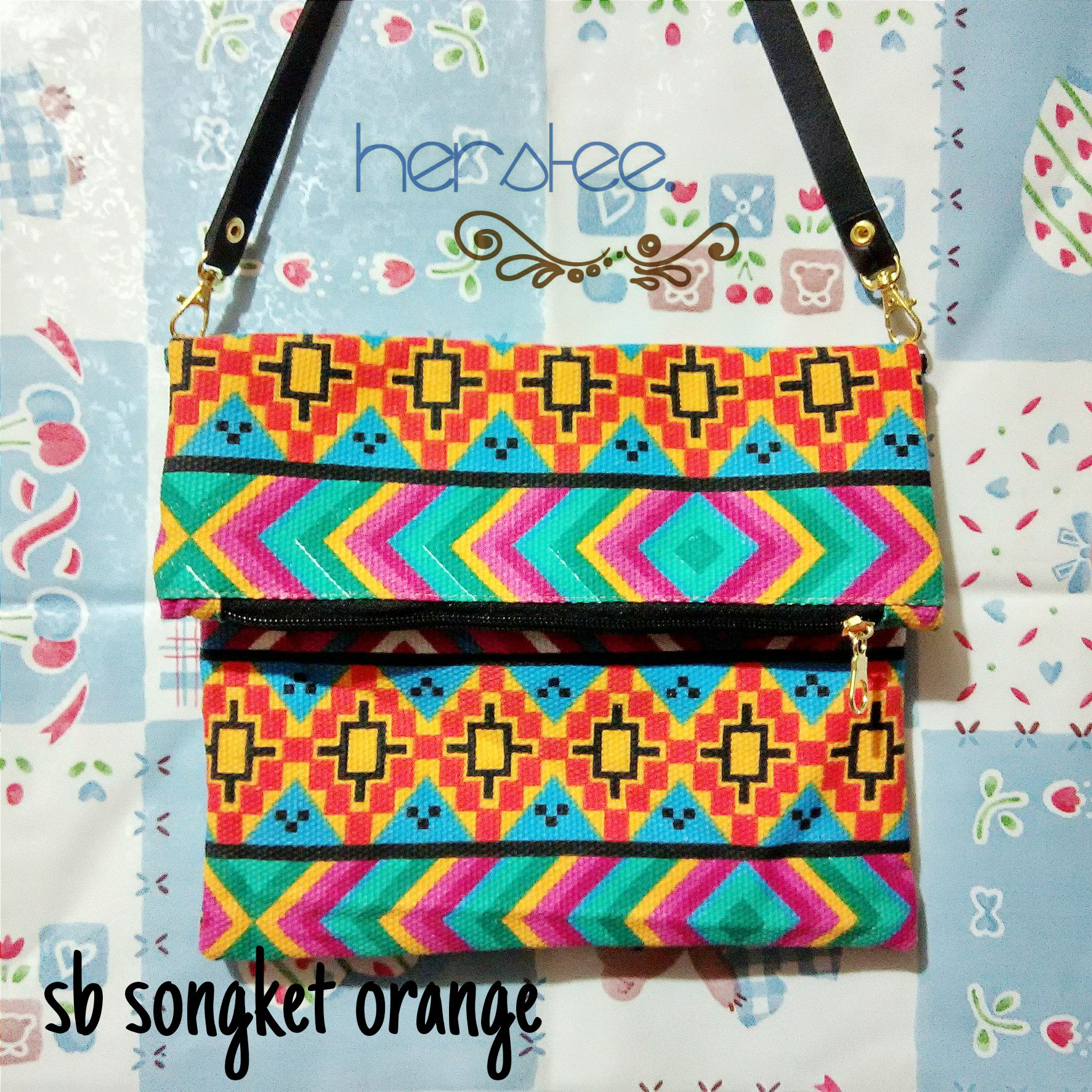 Kode : Sb Songket Orange. Harga : 40K. | PIN: 5941DBB7 | IG : herstee | LINE : https://t.co/aXs5iCpb6J https://t.co/KFZM6Whm1l