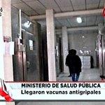 Llegaron vacunas antigripales al @msaludpy para ser distribuidas en todo el país #DíaADíaPy https://t.co/YS8qa3K7Ly