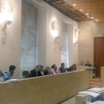 Declaración institucional en defensa de la planta de bioetanol. Contamos con trabajadores en el pleno #PlenoAytoSA https://t.co/EyiJVBhG4d