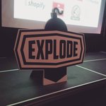 Tweet us your pics of the @explodeconf stage #sign and we will RT them & follow you! #FF #design #signage #LDNont https://t.co/rNenN6idt6