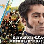 Hace 200 años de la Proclamación de Simón Bolívar como Jefe Supremo de la República https://t.co/AQ7d8Z5r6B https://t.co/D5QjAdeizc
